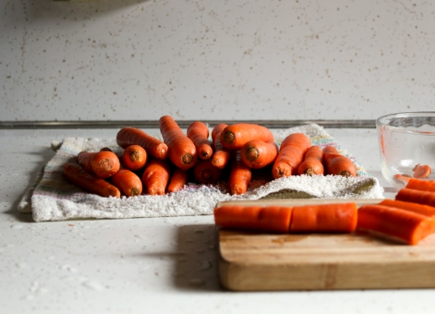 carrots for paleo carrot soup