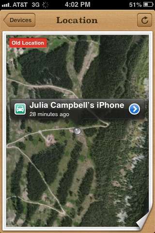iphone at Beaver Creek