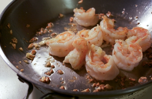 shrimp and garlic saute